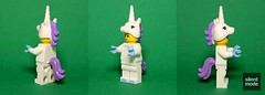 Modded Unicorn Girl (.SilentMode) Tags: girl mod lego unicorn minifigure s13