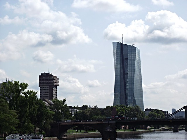 Frankfurt - New headquarters for the European Central Bank (ECB)