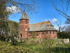 Sunk Island, Holy Trinity. 3 May 2016. (ricsrailpics) Tags: uk brick church yorkshire victorian 2016 holderness eastriding sunkisland grade2listed