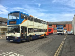 Olympians of 2016 (16639 & 16651) (Steven Atkinson) Tags: west bus station hospital volvo body 600 400 alexander carlisle whitehaven cumberland barrow stagecoach rl silloth olympian cockermouth 16639 16651 lillyhall incumbria p263vpn r251nbv