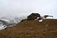 Sadness (supersky77) Tags: house mist alps primavera rain alpes casa spring cloudy ruin alpen alpi pioggia aosta valledaosta rovina nuvoloso alpeggio valleedaoste montmars