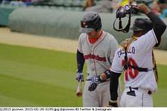2015-05-20 4199 Minor League Baseball - Pawtucket Red Sox @ Indianapolis Indians (Badger 23 / jezevec) Tags: pictures sports field photography photo team baseball action farm indianapolis redsox indiana images player indians tribe athlete minor pawsox ballpark aaa minorleague basebal honkbal pittsburghpirates bisbol  minors indianapolisindians 2015 aaabaseball  farmteam pawtucketredsox victoryfield  besbol  internationalleague   bejsbol farmclub beisbols bejzbol  ilbaseball pesapall beisbuols hornabltur bejzbal beisbolas beysbol  bezbl     redsoxfarm 20150520