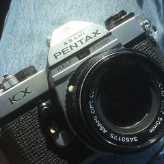 Half-frame Pentax KX?! (blue439) Tags: slr japan 35mm japanese asahi pentax vintagecamera halfframe imc kx klinger cameracollecting titleivb modifiedbyklinger