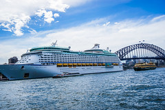 DSC00576 (Damir Govorcin Photography) Tags: bridge sky water ferry zeiss harbour sony sydney voyager seas 1635mm a7ii