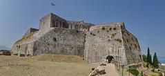 Corfu, New Fortress (nikosgr) Tags: castle nature landscape stonework hill medieval historic greece corfu fortress