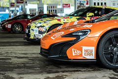 Gumball pitstop (Nick Collins Photography, Thanks for 2 million vie) Tags: car canon driving nissan ferrari mclaren 3000 supercar gumball gtr f12 650s 7dmk2