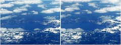Crater Lake (twoeyes2010) Tags: 3d aerialphotograph stereophotograph crossview