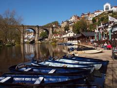 2016_04_0268 (petermit2) Tags: river boat yorkshire railway viaduct knaresborough northyorkshire rowingboat grainger rivernidd thomasgrainger