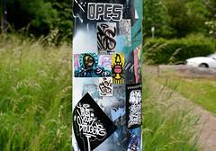 stickers (wojofoto) Tags: streetart holland amsterdam stickerart stickers nederland netherland ndsm wojo wolfgangjosten wojofoto