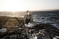 Freediving Apnoe Scubapro (ehovermann) Tags: storm beach strand model sundown wave malta freediving element fins wetsuit wellen sturm apnoe scubapro gischt freitauchen subapro dorishovermann
