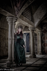 Behind the pillar (Azadeh Brown) Tags: wedding tiara green girl beauty fairytale dark painting bride persian model opera dress princess theatre cosplay balcony gothic goth goddess royal folklore worldofwarcraft medieval queen elf lotr vogue fantasy femmefatale crown celtic gown elegant middleages robinhood theatrical regal alternative larp superstitious pagan maidmarian preraphaelite damsel evilqueen gothchick darkelf margamcastle persianbeauty arthurian gameofthrones grimmfairytales gothicart preraphalite gothicqueen persianprincess persianmodel gothbeauty celticlady persianqueen