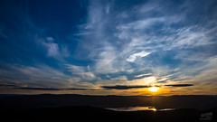 Summer sunset 2016 (NWS Photography) Tags: sunset summer sky oslo clouds feather cloudporn nordmarka likeapainting skyporn linnerudkollen maridalsvannet nwsphoto