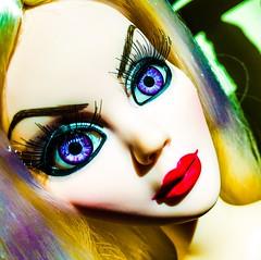 Pulp Fiction (welovethedark) Tags: doll iphone creepydoll mortallove iphonephoto evangelineghastly