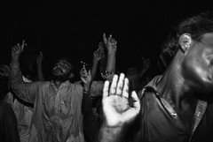 Dhamal at Sehwan (Raja Islam) Tags: pakistan men dance sufi sindh dhamal sehwan