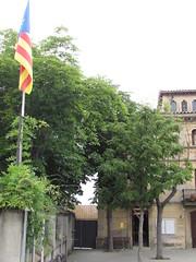Colegio electoral en Folgueroles (Eduardo Gonzlez Palomar) Tags: barcelona catalonia colegio bandera catalunya electoral catalua osona estelada fanatismo folgueroles independentista 2662016