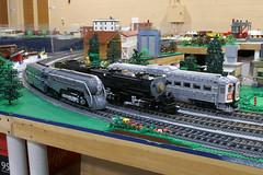 BW_16_Penn-Tex_054 (SavaTheAggie) Tags: pennlug tbrr pentex texas brick railroad train trains layout steam engine locomotive locomotives display yard city