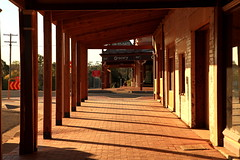 My Latest Post (Darren Schiller) Tags: building afternoon perspective shops newsouthwales verandah posts streetscape coolamon