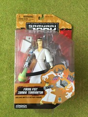Equity - Cartoon Network - Samurai Jack Action Figure - Firing Fist Zombie Terminator   - Collector's Toy (firehouse.ie) Tags: boys jack toy tv doll action zombie figure samurai terminator cartoonnetwork equity samuraijack tvrelated