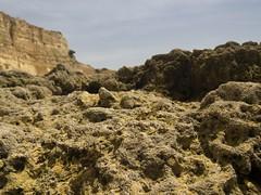 Macro Rocky Surface (esseffdeearr) Tags: portugal algarve olhos dagua riu guarana praia da falesia albufeira portimao vacation