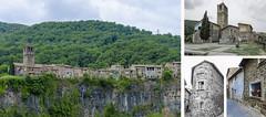 Racons de Castellfollit de la Roca (PeloZano) Tags: girona gerona besal castellfollitdelaroca romnic romnicocataln