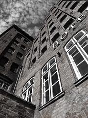 Hotel (Winterjasmin) Tags: blackandwhite deutschland german lbeck schwarzundweis