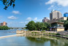 176/365.2016 Waller Creek Boathouse (OscarAmos) Tags: summer reflection water skyline architecture austin downtown texas availablelight coloradoriver townlake hdr lightroom ndfilter 18200mm tonemapped detailenhancer topazadjust project3652016 nikond7200 oscaramosphotography