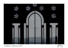 Casablanca - Marrocos, 2010 (André Motta de Lima) Tags: marrocos casablanca photobyaml grafismo mesquita hassanii
