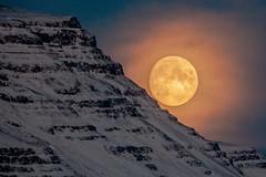 The Moon at 4:05 pm this evening (*Jonina*) Tags: iceland ísland reydarfjordur reyðarfjörður moon tunglið jónínaguðrúnóskarsdóttir 500views 50faves 100faves 1000views 1500views 2000views