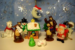 141214 014 (hruki_hru) Tags: bear sheep christmastree polarbear happynewyear