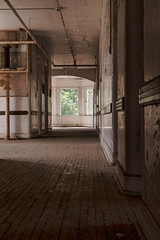 Further Down the Hall (cvan1978) Tags: abandoned traversecity asylum infirmary building50 kirkbride hall19