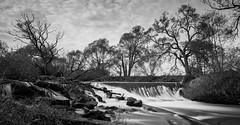 Blies (Eisfried) Tags: longexposure bw deutschland waterfall wasserfall sony small sw schwarzweiss saarland langzeitbelichtung nex limbach blies nex6