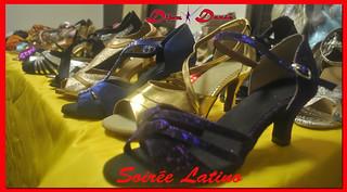 Stand de chaussures de danse