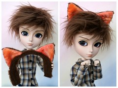 Cat Ears on a Headband (CornflowerBlue07) Tags: william catears obitsu taeyang slimmale
