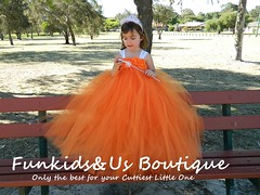 https://www.etsy.com/au/listing/211086668/orange-flower-girl-dress-shabby-flowers?ref=shop_home_active_1 (Funkids&Us Boutique) Tags: girl kids clothing dress princess flowergirl gown pageant tutu princesses tutus ballgown