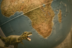 When Dinos ruled the Earth (lapoonz) Tags: history globe ancient earth fujifilm dinosaurs palaeontology cretaceous xm1
