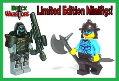 Holiday Gift Guide From A-Z: L is for Limited Edition Minifigs (MandaBW) Tags: christmas holiday lego gift presents guide minifigs custom limited edition android minifigure berserker brickwarriors