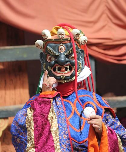 Jakar tshechu, Guru Tshengye, Guru Senge Dradog manifestation