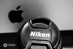 Nikon & Mac (luisbajanai) Tags: art apple lens photography mac nikon imac gye nikonlens nikonistas