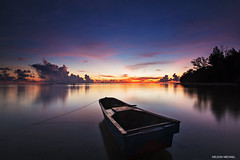 One more dawn (Nelson Michael) Tags: morning seascape nature sunrise landscape landscapes boat seascapes sony tip malaysia borneo sabah kudat simpang ziess 1635mm mengayau a99 sonyalpha rgnd