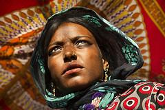 Anita, a  beautiful gypsie  in Pushkar (Bertrand Linet) Tags: india asia inde bertrandlinet