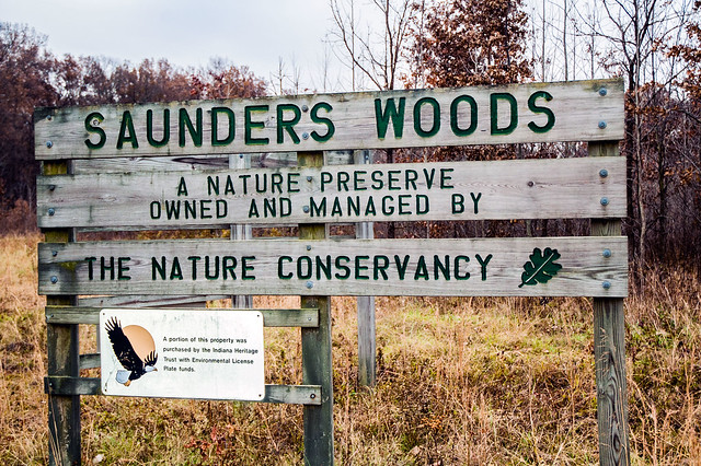 Saunders Woods Nature Preserve - November 25, 2014