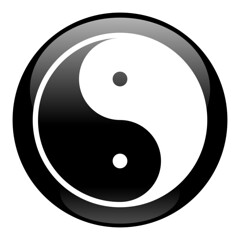 Yin-Yang Black Icon (willdease) Tags: china woman white man black sign yoga illustration circle asian asia symbol opposite spirit traditional religion chinese culture lifestyle buddhism philosophy icon charm tai yang chi zen harmony soul round button medicine balance duality meditation spirituality belarus relaxation yin occult vector contrasts pictogram isolated mystic amulet enigmatic taoism esoteric taiji talisman mysticism taijitu