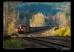 CP 9611 at Greely-100 (Revybawb2010) Tags: autumn canada bc fallcolor trains transportation railways cpr revelstoke locomotives greely gmdiesellocomotives