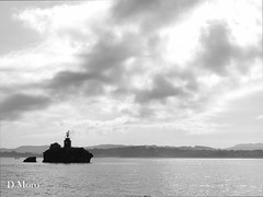 Sea sight (Green_end) Tags: sea costa amigos coast mar sailing barcos bn santander santander2014