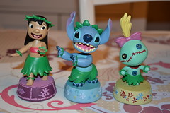 Figurine Bobble Head Lilo, Stitch and Souillon (MissLilieDolly) Tags: angel stitch head slut disney collection figure dolly figurine miss lilo et lilie bobble souillon missliliedolly