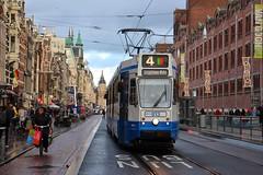 GVB Blokkendoos 813, Lijn 4, Damrak (Don Maskerade) Tags: amsterdam tram gvb damrak 813 lijn4 blokkendoos