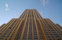 Empire State Bldg NYC (peter and seija) Tags: nyc newyorkcity usa ny newyork vertical skyline architecture skyscraper empirestatebuilding newyorkstate