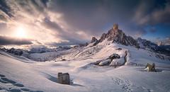 Snowtopia (@hipydeus) Tags: dolomites dolomiten alps alpine pass snow landscape nature