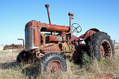 Waiting for harvest (aussiegypsy_ tropics of Aus) Tags: old tractor history abandoned vintage landscape major rust antique farm farming australian rusty australia historic machinery rusted land outback remote agriculture aussie northern southaustralia derelict pioneer isolated workhorse outdated paddock fordson pioneering bygoneera