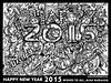 HAPPY NEW YEAR 2015  WISHES TO ALL- Artist Anikartick,Chennai,Tamil Nadu,India